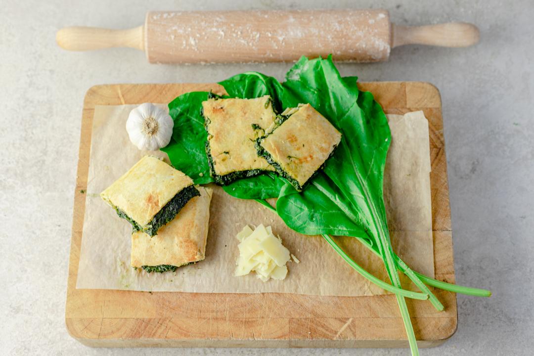 Erbazzone (Spinach & Cheese Pie)